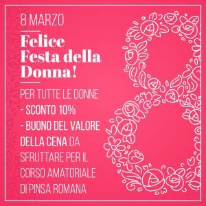8 Marzo - Festa della Donna - DentroFuori Grottaferrata